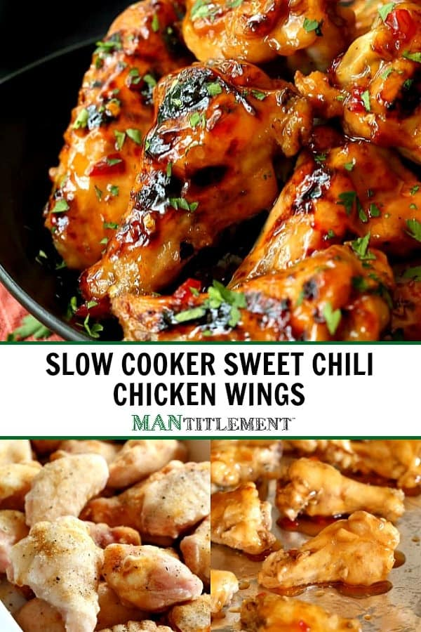 Easy Slow Cooker Chicken Wings