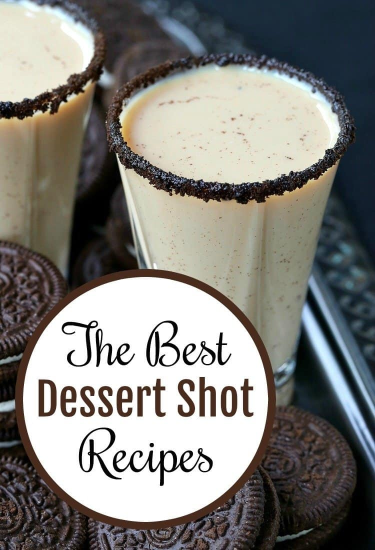 We're going to show you 12 of the BEST dessert shot recipes to make for New Years or any party! You can serve these boozy dessert shots instead of dessert! #shots #newyears #dessertshots