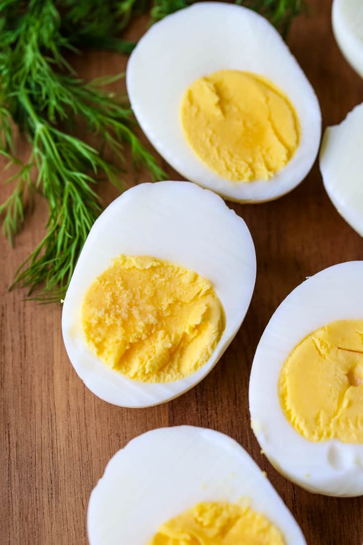 Classic Deviled Eggs Recipe uses these perfectly cooked deviled eggs