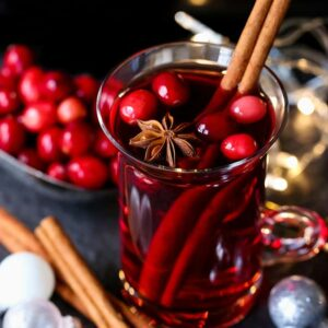 Christmas Punch is a punch recipe with cranberry juice for parties