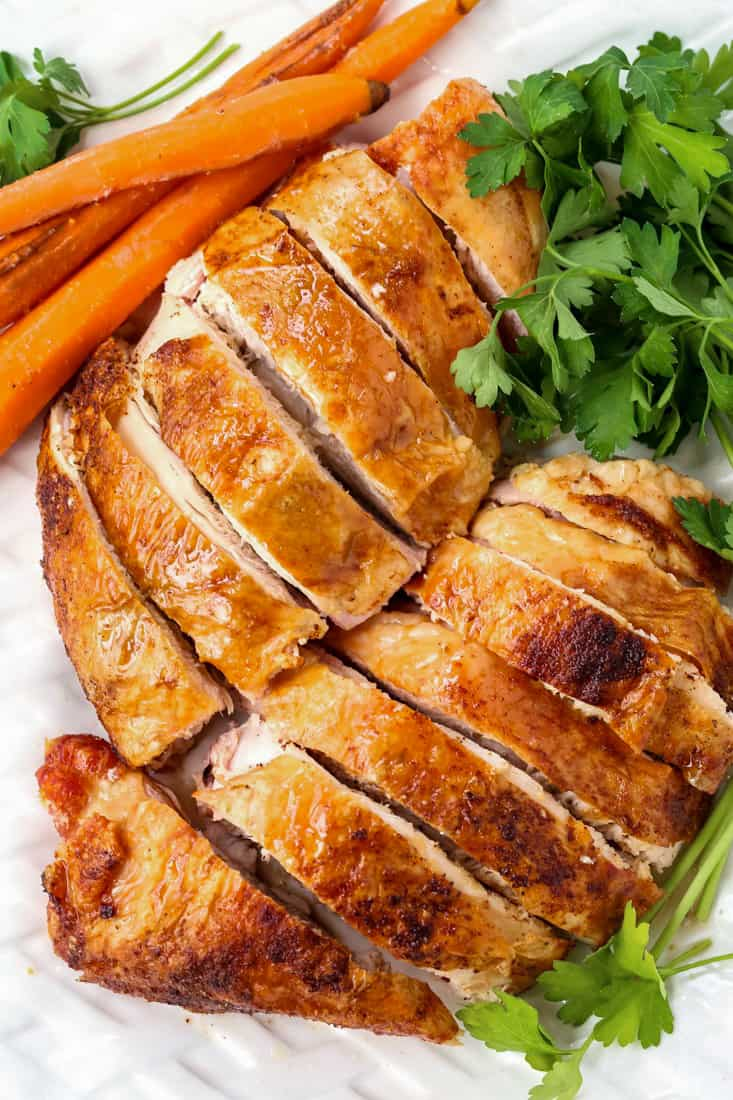 How To Cook And Carve A Turkey Breast will show you the easiest way for juicy turkey that's done quickly