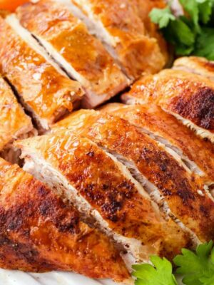How To Cook And Carve A Turkey Breast is an easy guide for making juicy, tender turkey