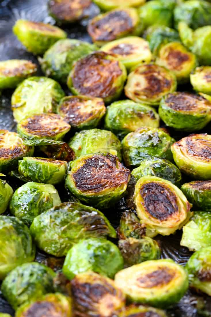 How To Make the Best Roasted Brussels Sprouts is a roasted vegetable recipe that only takes 25 minutes