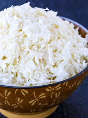 Better Cauliflower Rice recipe is a rice substitute made from processed cauliflower