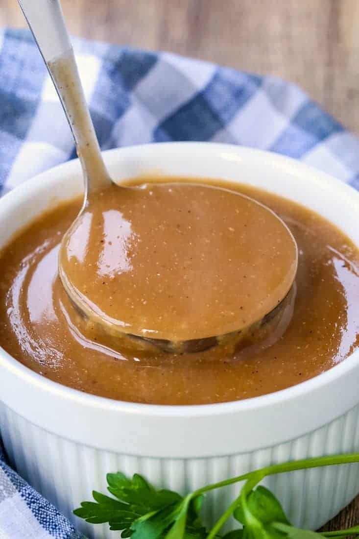 Brown Gravy Recipe is a gravy recipe that doesn't need meat drippings