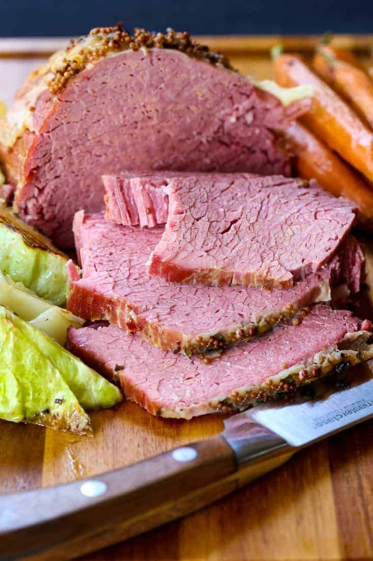 Crock Pot Corned Beef is a slow cooker recipe for corned beef and cabbage