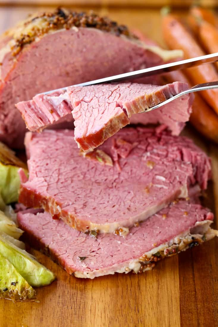 Crock Pot Corned Beef is a corned beef recipe made with wine and chicken broth