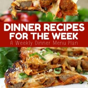 Dinner Recipes For The Week!