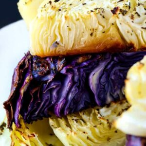 Oven Roasted Cabbage Recipe