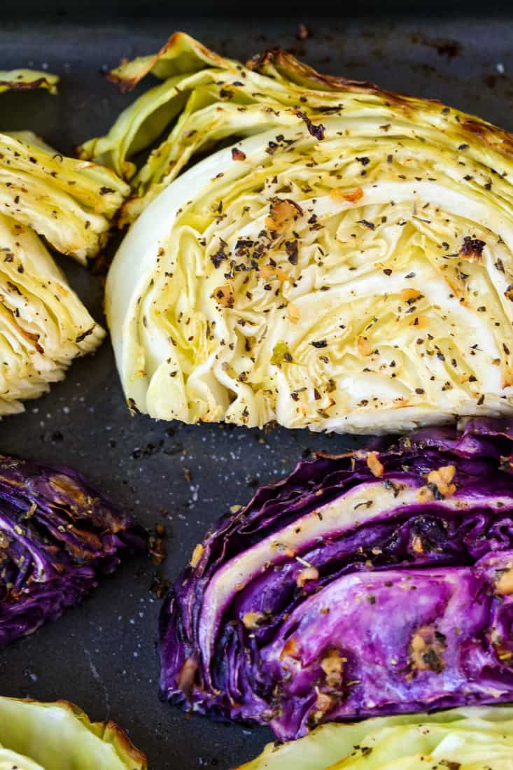 Oven Roasted Cabbage is a side dish recipe that goes well with many dinners
