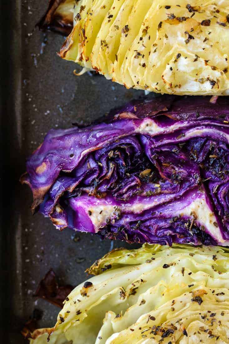 Oven Roasted Cabbage Recipe is a cabbage recipe that is cooked with a garlic dressing