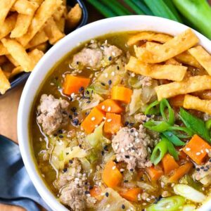 Pork Egg Roll Soup Recipe