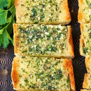 Classic Garlic Bread Recipe is a garlic bread recipe made with fresh garlic and butter