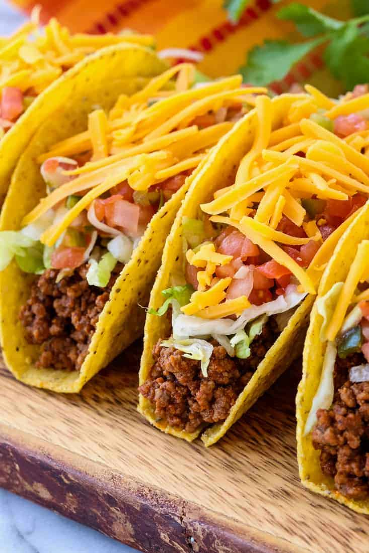Homemade Ground Beef Taco Meat The Best Homemade Taco Meat