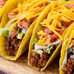 Homemade Ground Beef Taco Recipe