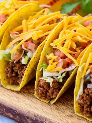 Beef Taco Meat is a homemade recipe for taco meat that you can use to make tacos