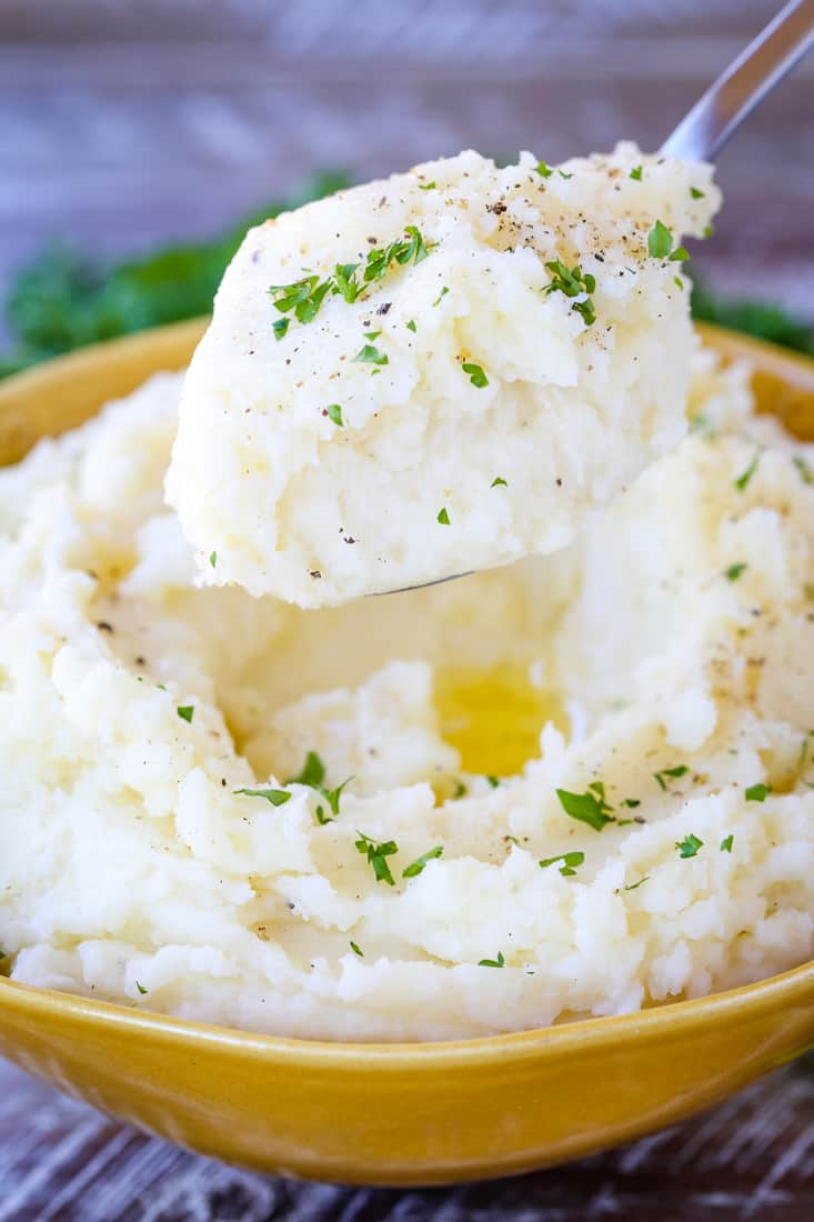 Perfectly Smooth Mashed Potatoes are the fluffiest mashed potato recipe ever!