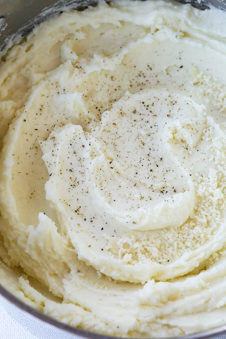 Perfectly SMooth Mashed Potatoes are a potato recipe whipped until smooth