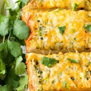 Cheesy Mexican Garlic Bread is a garlic bread recipe with a Mexican blend cheese melted on top