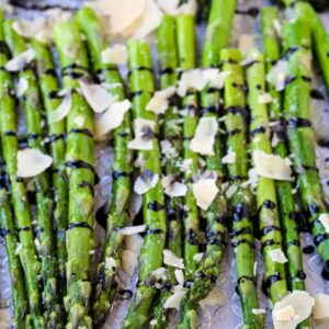 Oven Roasted Balsamic Asparagus