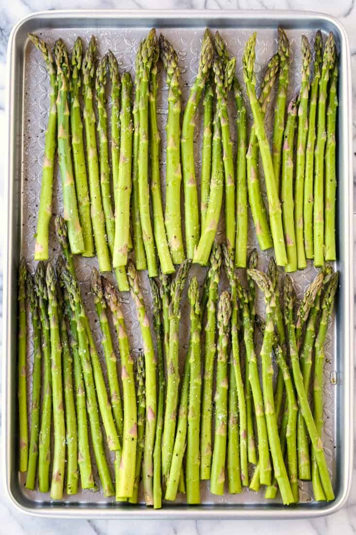Oven Roasted Balsamic Asparagus is an asparagus recipe with just a few ingredients