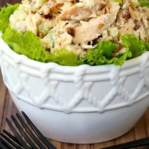 Make this Caramelized Onion Chicken Salad for lunch, dinner or even brunch!