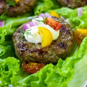 Hamburger Lettuce Wraps are a delicious low carb meal