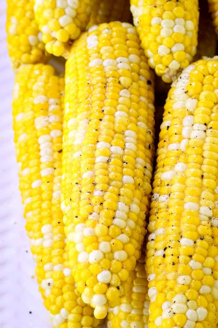 Oven Roasted Corn on the Cob is a corn recipe that is made in the oven