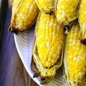 Oven Roasted Corn on the Cob is a corn recipe cooked in the oven