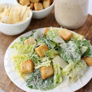 Homemade Caesar Salad Dressing Recipe