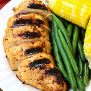Our Favorite Chicken Marinade is a marinade recipe for chicken, pork or turkey