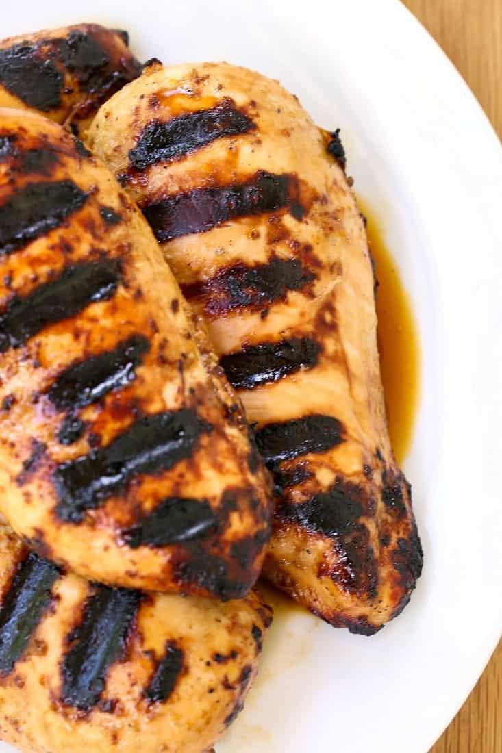 Our Favorite Chicken Marinade makes the juiciest chicken ever!