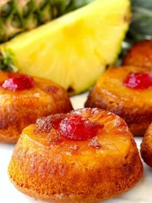 Pineapple Upside Down Whiskey Cakes is a dessert recipe for parties