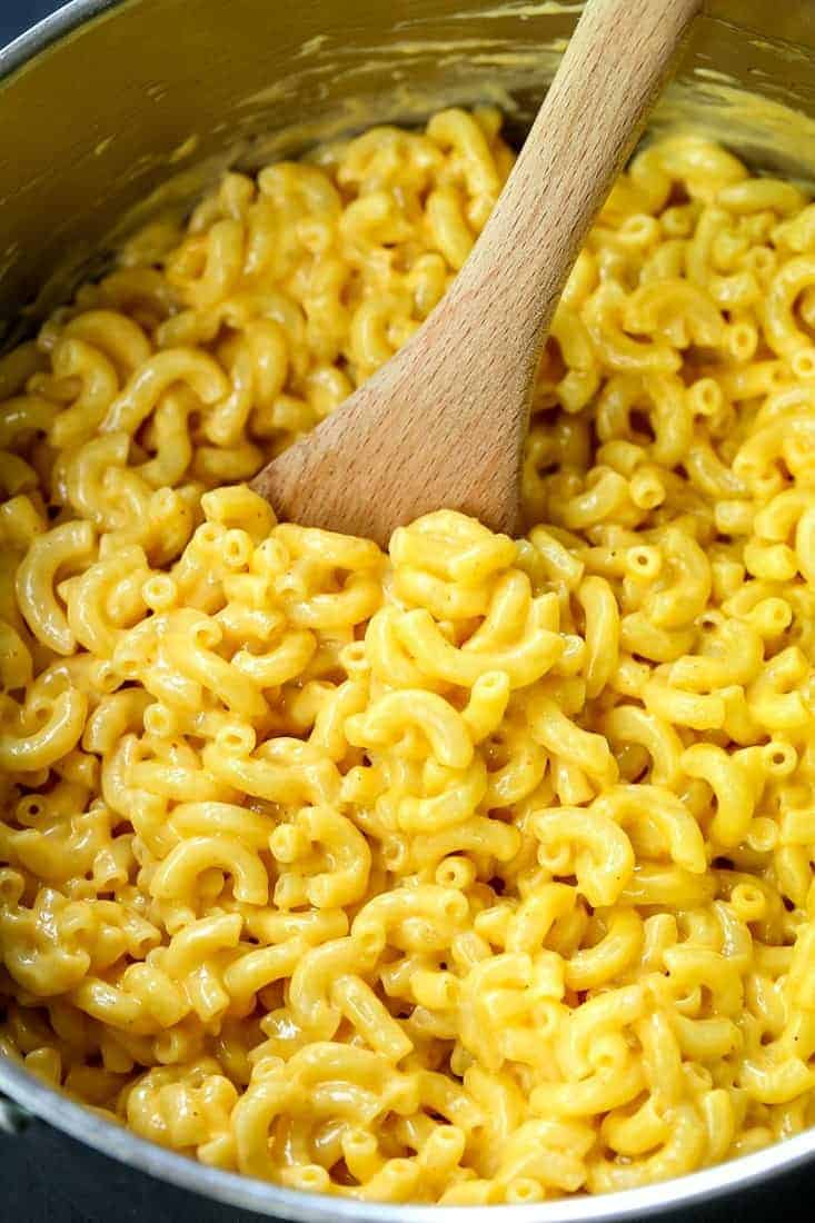 Easy Stove Top Mac and Cheese is a macaroni and cheese recipe made from scratch