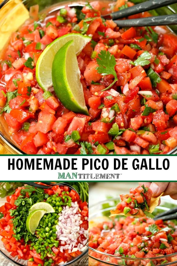 pico de gallo collage for pinterest