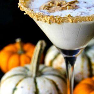 RumChata Pumpkin Cheesecake Martini