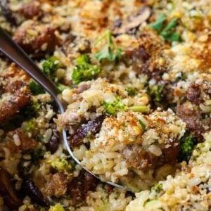 Sausage and Broccoli Casserole