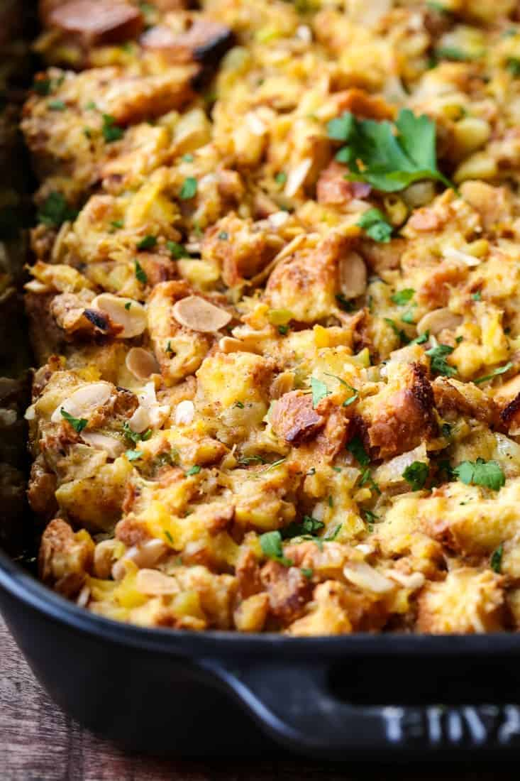Seriously Delicious Pineapple Stuffing