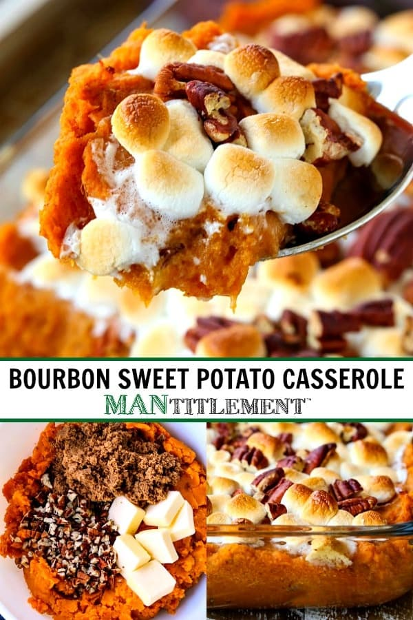 sweet potato casserole for a Thanksgiving side dish