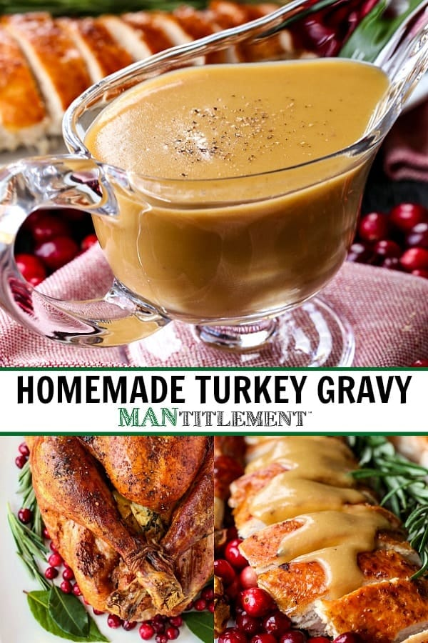 turkey gravy picture collage for Pinterest