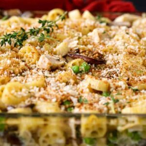 turkey casserole recipe with pasta and vegetables