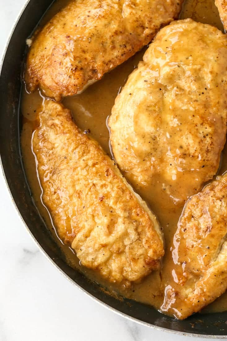 Chicken Francese is an easy chicken recipe made with chicken breasts