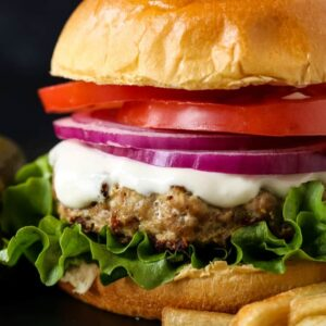 Easy Juicy Turkey Burgers