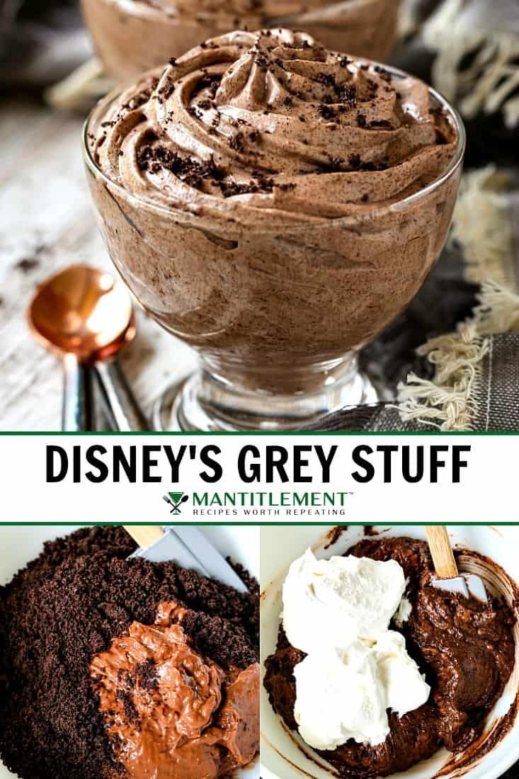 Disney's Grey Stuff dessert collage for pinterest