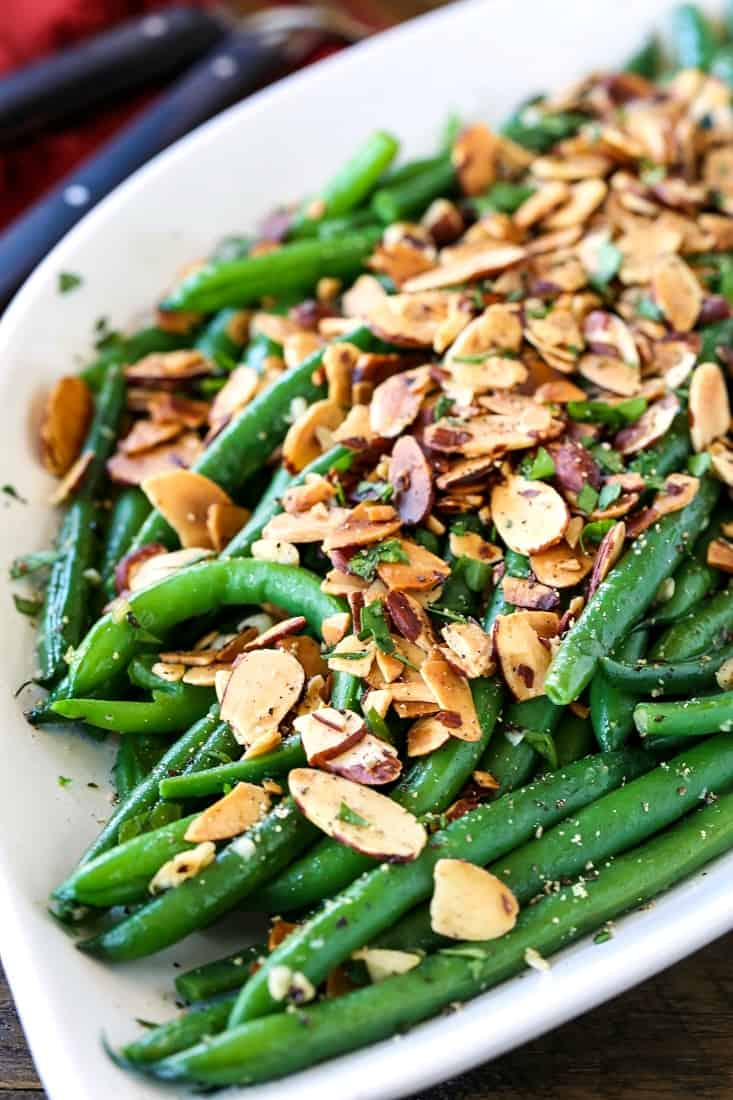 green beans almondine is a classic side dish recipe